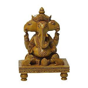 Ganesha Sentado Mesa 25cm