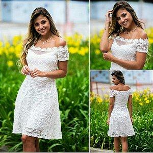 Vestido Amor em Renda Branco
