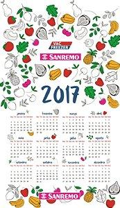 Pano de prato personalizado - Calendário