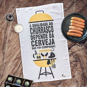 Pano de prato personalizado - Churrasco