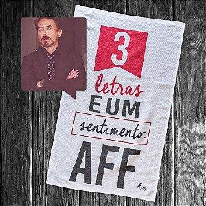 Pano de prato personalizado - AFF