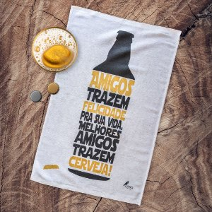 Pano de prato personalizado - Amigos