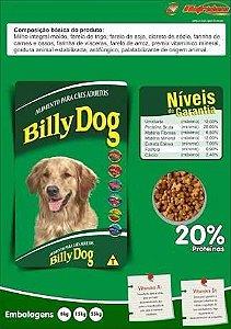 Ração Billy Dog Adulto - 25KG