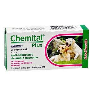 Chemital Plus Comprimido - CAIXA 4 COMPRIMIDOS