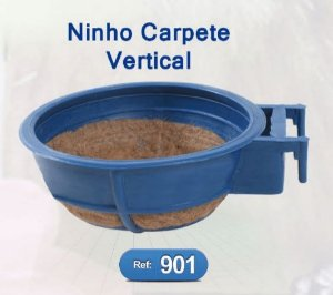 Ninho Plástico Carpete - Jelplast 901