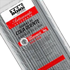 Cola quente (refil) Fina 1 Kg.Transparente - Tekbond