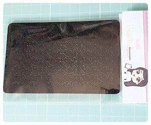 Recortes em Feltro - Cílios 4 pontas 1,5 cm com termocolante definitivo - 42 un (21 pares)