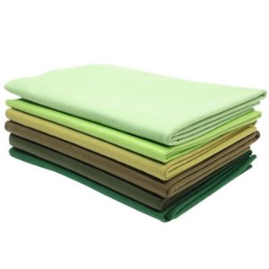 Kit de Tons de Verde com 6 peças
