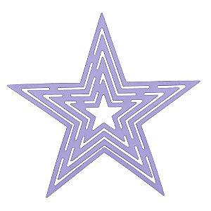 Gabarito We Care About Estrela 21x21cm