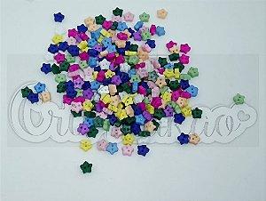 Mini Botões de Estrela 6mm We Care About Sortidos