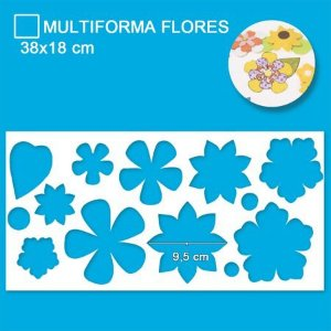 Régua Patchwork Isamara Custódio - Multiforma Flores