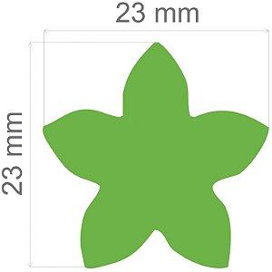 Furador para papel/E.V.A. (jumbo) Flor 5 Pontas C/Alavanca Toke E Crie