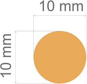 Furador para papel/E.V.A. (mini) Circulo 3/8pl.C/Alavan.10x10mm Toke E Crie