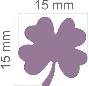 Furador para papel/E.V.A. (regular) Trevo 4 Folhas C/Alav. 16mm Toke E Crie