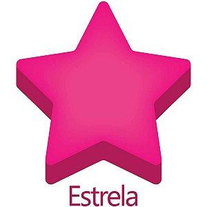 Furador para papel/E.V.A. (regular) Jumbo Estrela 25mm Make+