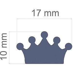 Furador decorado para papel Regular Coroa 17mm Alavanca Toke E Crie