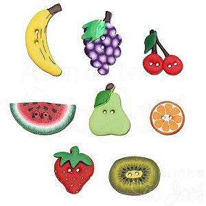 Botões Artesanais Frutas