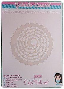 Gabarito Para Flor Espiral em acetato