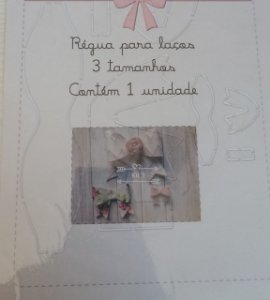 Régua Gabarito para Laços - kit 3