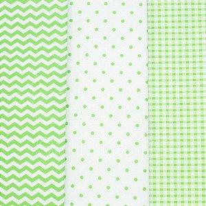 Feltro Estampado - Santa Fé - Compose Verde Citrico  - Coleção Desejos