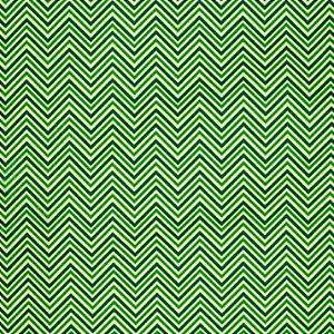 Feltro Santa Fé - Estampado Natalino Chevron Verde