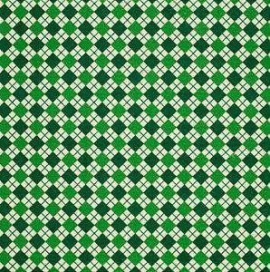 Feltro Santa Fé - Estampado Sueter Natalino Verde