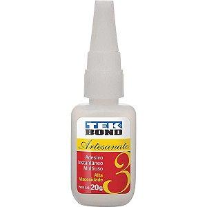 Cola (adesivo instantâneo) Tekbond 20g.N3 Tekbond