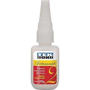 Cola (adesivo instantâneo) Tekbond 20g.N2 Tekbond