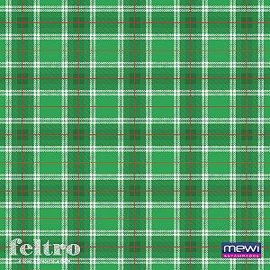 Feltro Estampado Verde – Xadrez Tartan