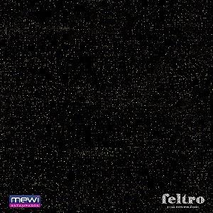 Feltro Glitter Mewi Preto