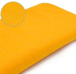 Feltro Glitter Amarelo Sol