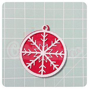 Recortes em Feltro Pingentes de Natal - Floco de Neve 2