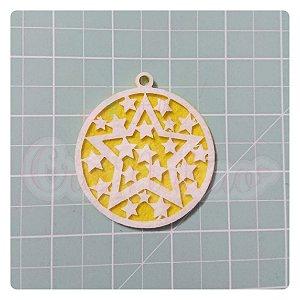 Recortes em feltro Pingentes de Natal - Estrelas 1