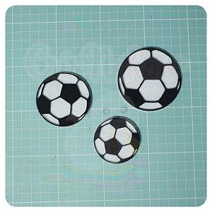 Recortes em Feltro - Aplique Bola (escolha o tamanho) - 6un