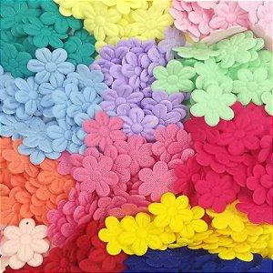 Flor Prensada (ultrassom) - 30 un (escolha a cor)