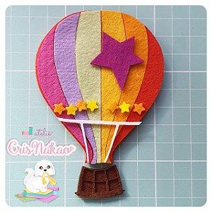 Recortes em Feltro - Balão Bita para Chaveiro, Aplique ou lembrancinhas - un