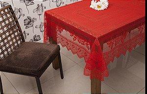 Toalha Quadrada Color Vermelha 150CMX150CM 100% Poliester Interlar