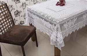 Toalha Quadrada Color Branca 150CM X 150CM 100% Poliester Interlar - 131865