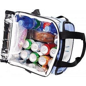 Ice Cooler 24 Litros 1 Divisória Azul - Mor