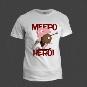 Camiseta - Meepo Herói