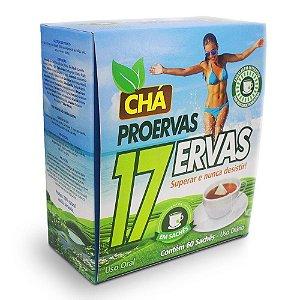 Chá Proervas 17 Ervas Com 60 Sachês