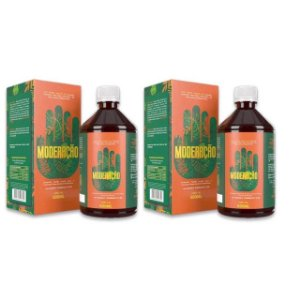 Moderação Detox Digestivo Natural 500ml 2 Unidades