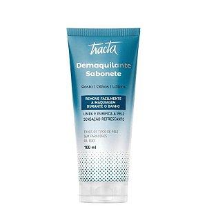 Sabonete Facial Demaquilante 100ml Tracta