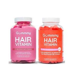 Kit Gummmy Hair Vitamin Com 60 Gomas Cada