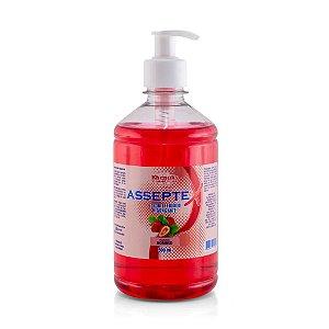 Sabonete Líquido Higienizante Asseptex Morango 500ml