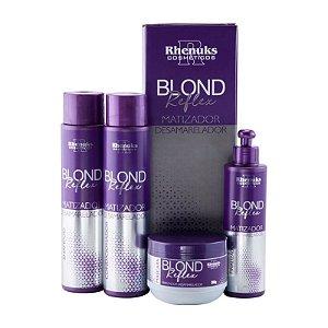 Rhenuks Kit Tratamento Capilar Blond Reflex 4 Peças