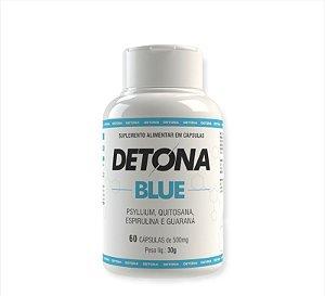 Detona Blue Suplemento Alimentar Com 60 Cápsulas