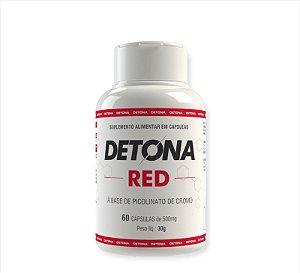 Detona Red Suplemento Alimentar Com 60 Cápsulas