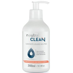 Panta Cosmética Neutral Clean Sabonete Líquido 300ml