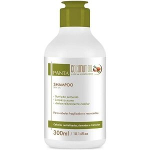 Panta Cosmética Coconut Oil Shampoo 300ml